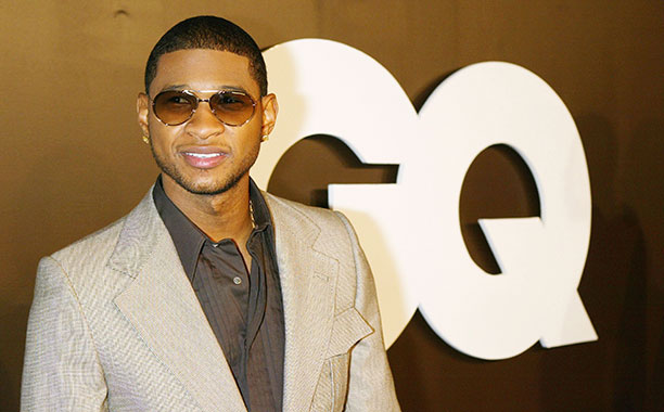 Usher at GQ Magazine's 2004 Men of the Year Celebration in West Hollywood on December 2, 2004