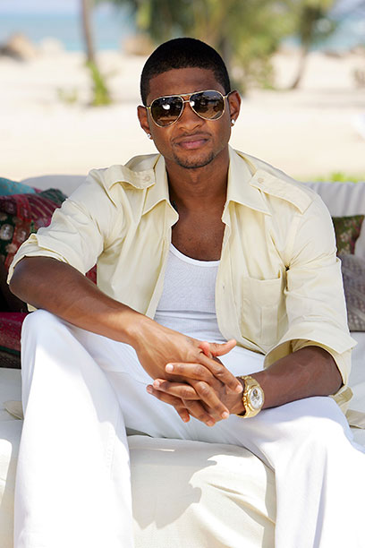Usher in Puerto Rico on March 3, 2005