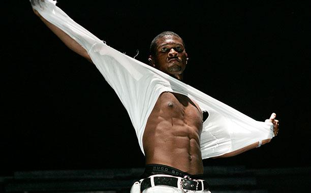Usher in San Juan on March 5, 2005