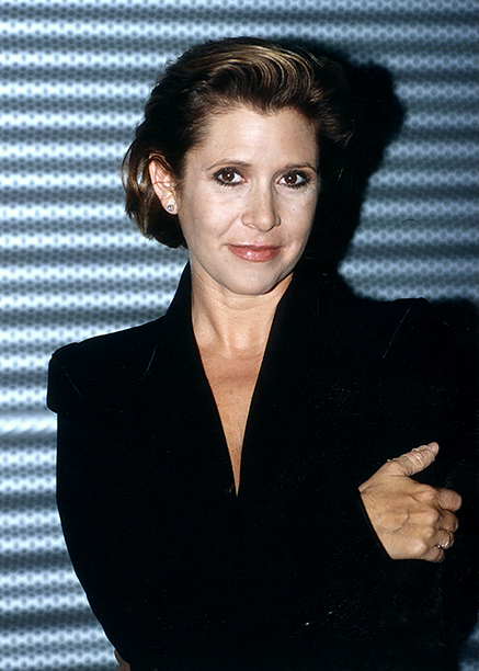 Carrie Fisher in October 1995