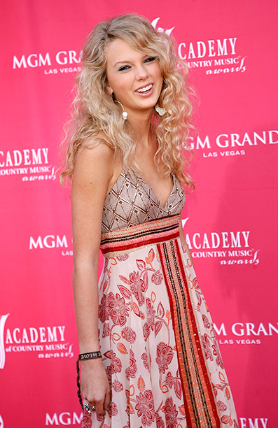 Taylor Swift at the 41st Annual Academy Of Country Music Awards on May 23, 2006