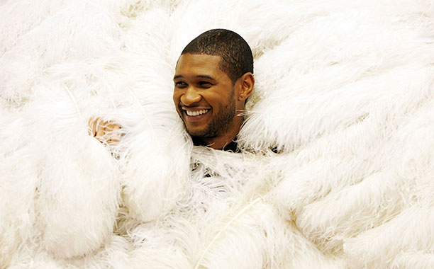 Usher Rehearsing for Chicago in New York City on August 15, 2006