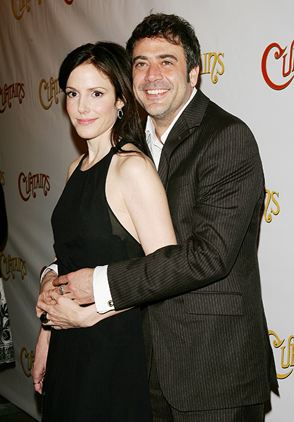 Jeffrey Dean Morgan With Mary Louise Parker in New York City on March 22, 2007