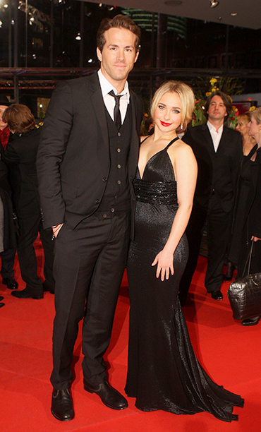 Ryan Reynolds With Hayden Panettiere at the Fireflies In The Garden Premiere at the 58th Berlinale Film Festival on February 10, 2008