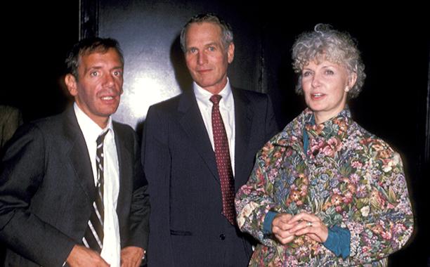 Steve Rubell, Paul Newman, and Joanne Woodward
