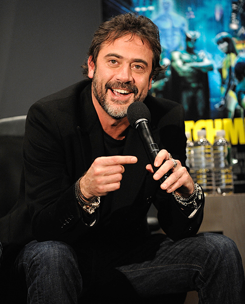 Jeffrey Dean Morgan in New York City on March 5, 2009