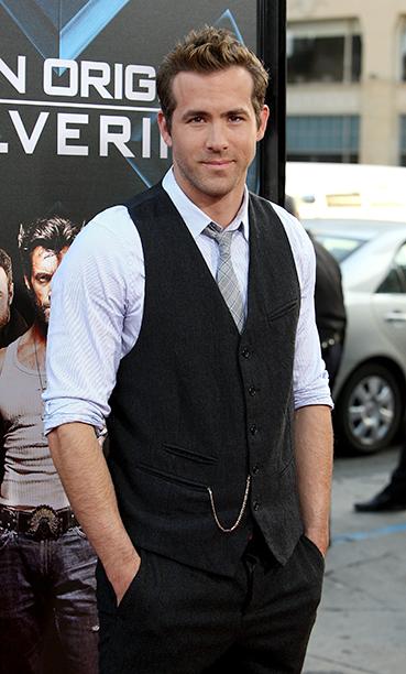 Ryan Reynolds at the Screening of X-Men Origins: Wolverine in Hollywood on April 28, 2009