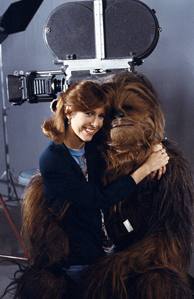 Carrie Fisher Hosting Classic Creatures: Return of the Jedi on November 21, 1983