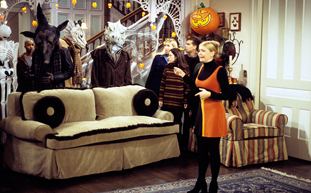 "Sabrina the Teenage Witch, ""A River of Candy Corn Runs Through It"""