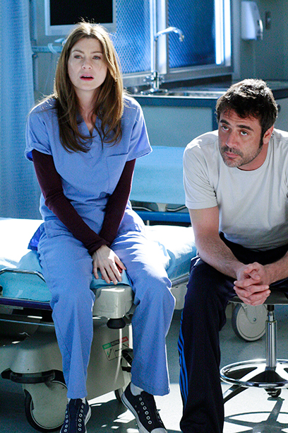 Jeffrey Dean Morgan as Denny Duquette on Grey's Anatomy on February 7, 2007