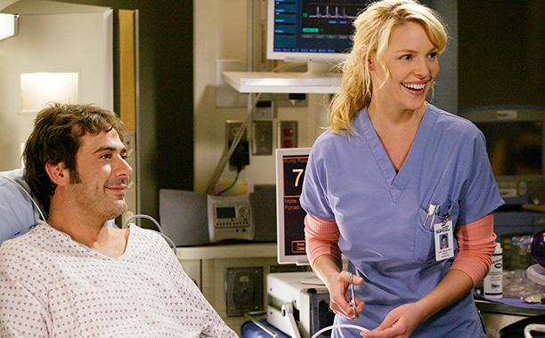 Jeffrey Dean Morgan as Denny Duquette in Grey's Anatomy on April 6, 2006
