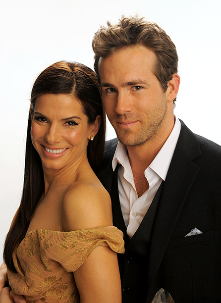 Ryan Reynolds With Sandra Bullock at the People's Choice Awards on January 6, 2010