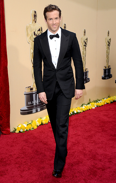 Ryan Reynolds at the 82nd Annual Academy Awards in Hollywood on March 7, 2010