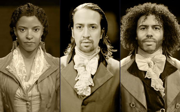 'Hamilton' Portraits Bow at the Public