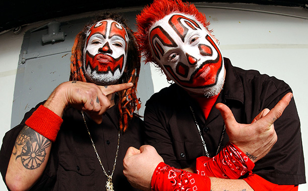 Despite Violent J & Shaggy 2 Dope's rap lyrics about beating, torturing, and serial killing, the scariest thing about the Insane Clown Posse might be…
