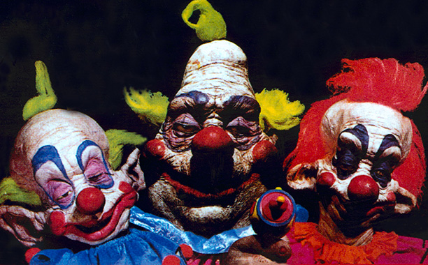 Sure, the stars of this purposefully bad clownsploitation flick are more goofy than scary—if you're made of stone, that is. Those sagging smiles and rotten…