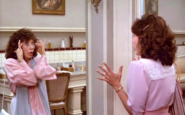 Lily Tomlin as Rose Ratliff and Rose Shelton in Big Business