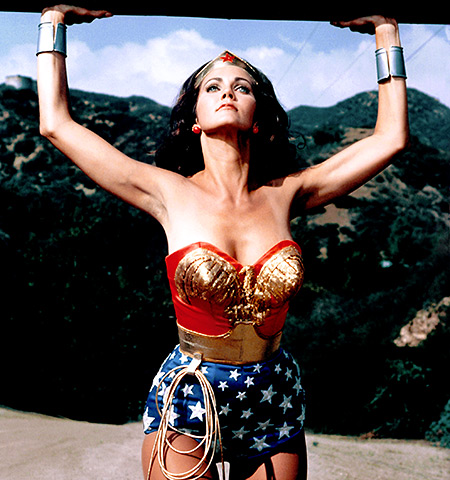 Wonder Woman | The fondly remembered Wonder Woman TV series had to make do with a cheap budget — which explains the cheesy effect that saw Diana magically…