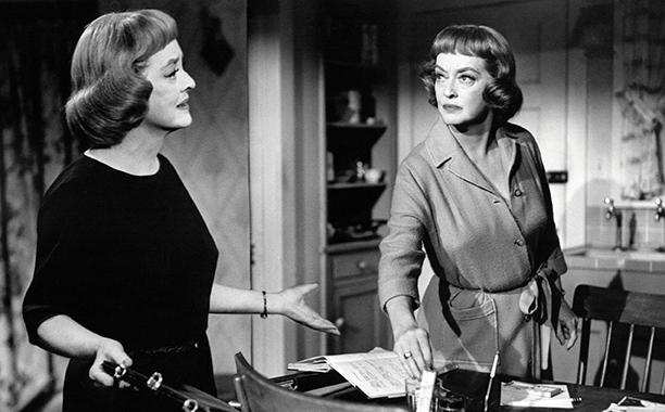 Bette Davis as Margaret DeLorca and Edith Phillips in Dead Ringer