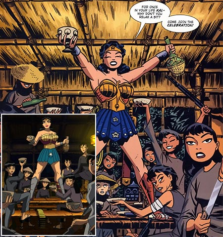 Wonder Woman | Like all superheroes, Wonder Woman occasionally gets the alternate-universe treatment, allowing creators to play around with the character's iconography without dealing with nearly seven decades…