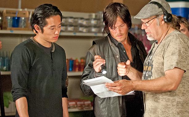 Norman Reedus on Steven Yeun