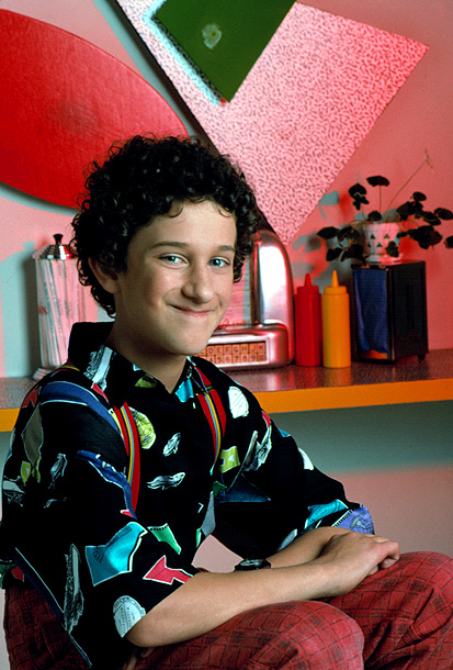 Dustin Diamond, Saved by the Bell | Brillo-haired Samuel ''Screech'' Powers (Dustin Diamond) was a scrawny misfit whose squeaky voice, nerdy interests, and talent for bungling things made him unbearable — Steve…