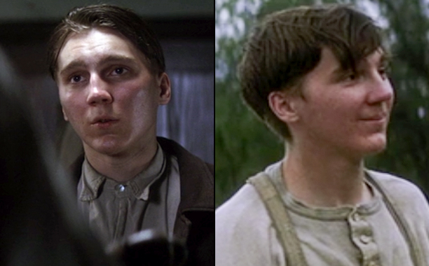 Paul Dano as Paul and Eli Sunday in There Will Be Blood
