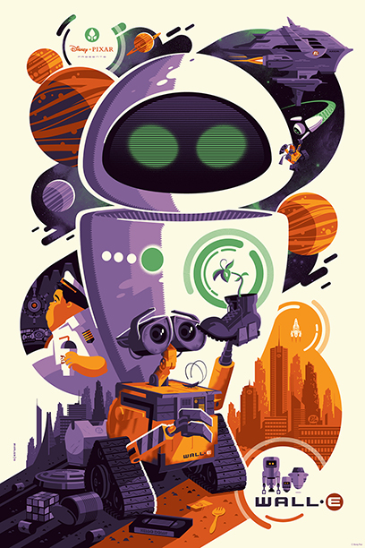 Wall-E by Tom Whalen