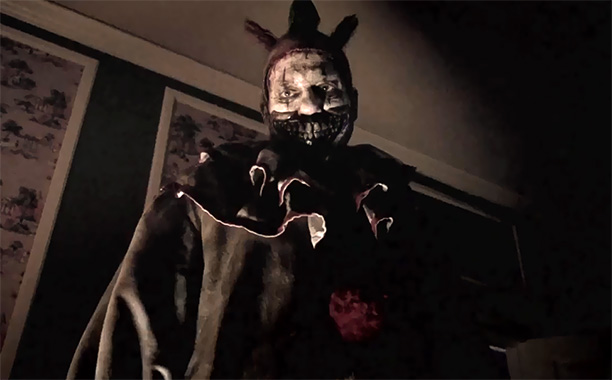 AHS mastermind Ryan Murphy has said that Freak Show 's Big Bad is his attempt to ''go head-on at [people's fear of clowns],'' adding, ''we…