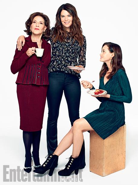 Alexis Bledel, Lauren Graham, and Kelly Bishop