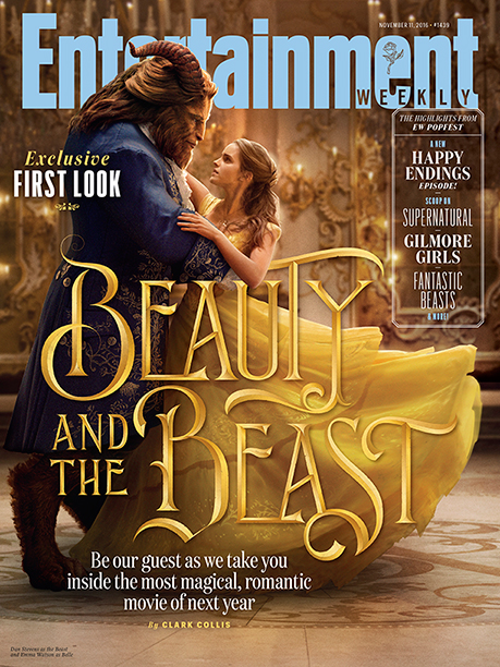 Beauty and the Beast On the Cover of EW