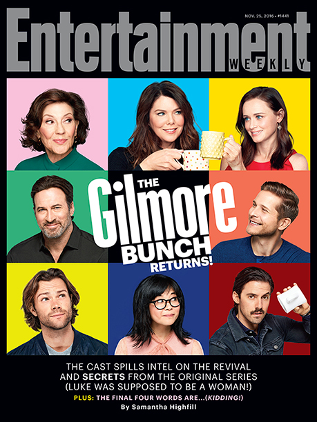 'Gilmore Girls' on the Cover of 'EW'