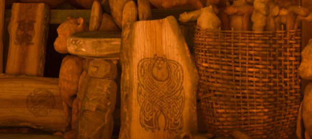 The Monsters, the Witch, and the Woodcarving (Brave)