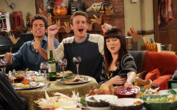 "'How I Met Your Mother' Season 3 Episode 9: ""Slapsgiving"""