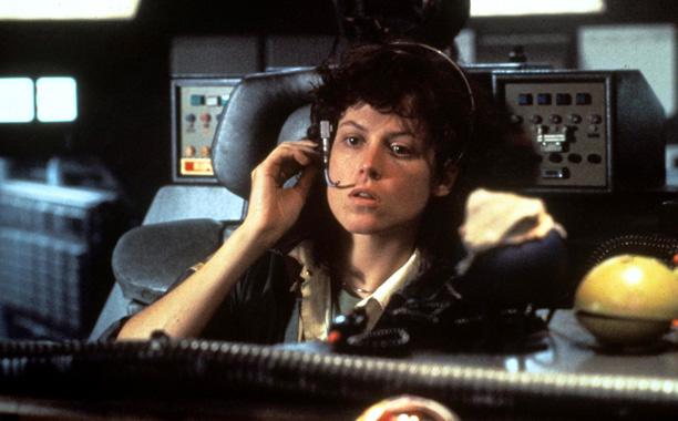 Sigourney Weaver in Alien