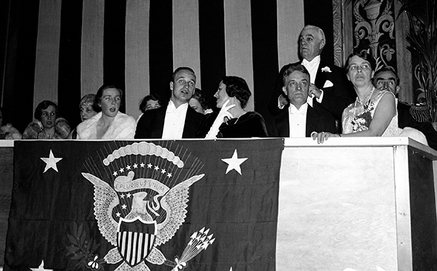 Franklin D. Roosevelt's Inaugural Ball in 1933
