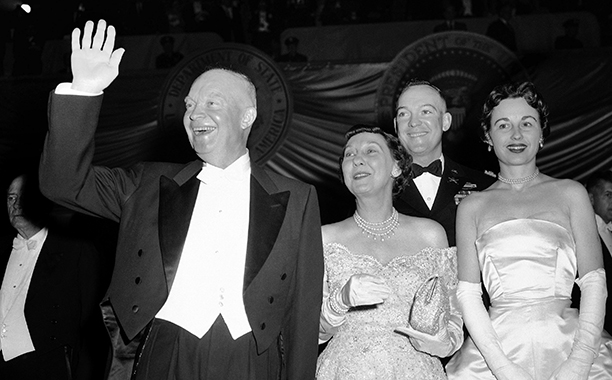 Dwight Eisenhower's Inaugural Ball in 1957