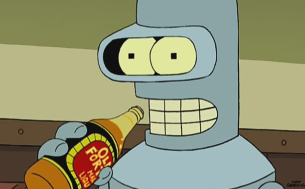 Bender Wasn't the Bender We Know in the Futurama Pilot