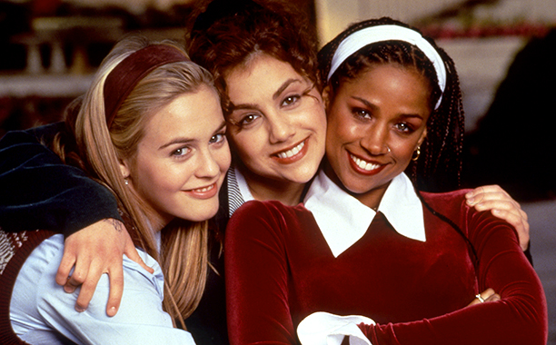 Brittany Murphy With Alicia Silverstone and Stacey Dash in Clueless in 1995
