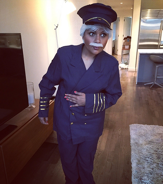 """Mindy Kaling as Tom Hanks as """"Sully"""" Sullenberger III From Sully"""