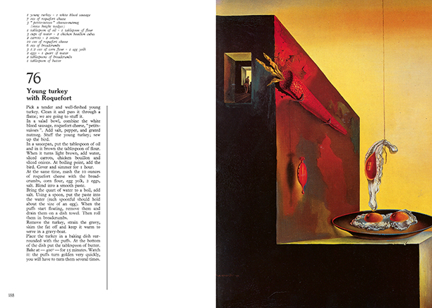 Salvador Dali's 'Les Dîners De Gala'