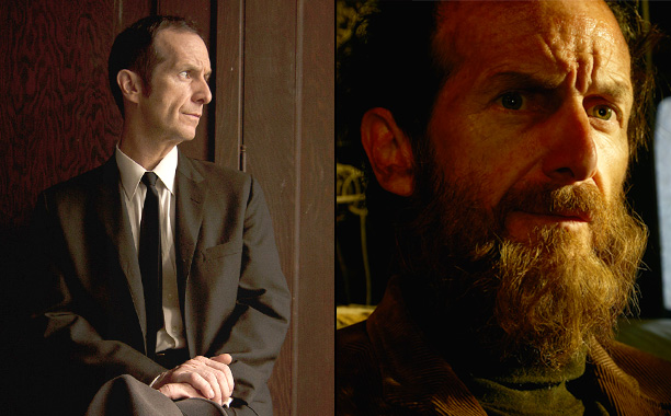 Denis O'Hare as Larry Harvey in American Horror Story: Murder House, Denis O'Hare as Elias in American Horror Story: Roanoke