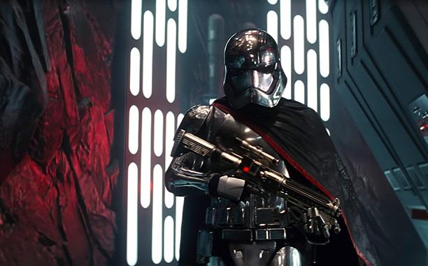 Gwendoline Christie in Star Wars: The Force Awakens