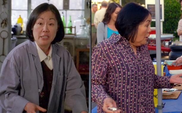 Emily Kuroda as Mrs. Kim in Season 1; Emily Kuroda as Mrs. Kim in A Year in the Life