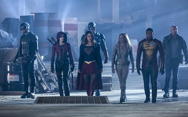 The CW's Superhero Crossover
