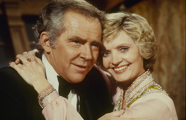 Florence Henderson With James Broderick on The Love Boat on February 2, 1980