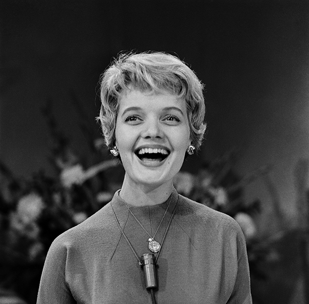 Florence Henderson on October 19, 1959