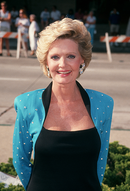 Florence Henderson at the 43rd Annual Primetime Emmy Awards on August 24, 1991