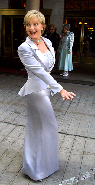 Florence Henderson at the 11th Annual Graduation Fashion Show in Los Angeles on June 6, 2002