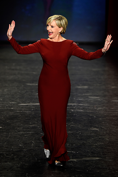 Florence Henderson at The American Heart Association's Go Red For Women Red Dress Collection Presentation on February 11, 2016